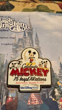 InspEARations Disney Pin Frederica, 19946