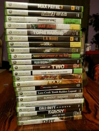 Xbox 360 Games (Full List in Desc.) North Vancouver, V7L 2L6