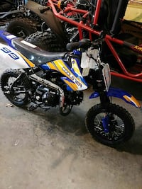 Coolster dirt bikes 110cc fully automatic