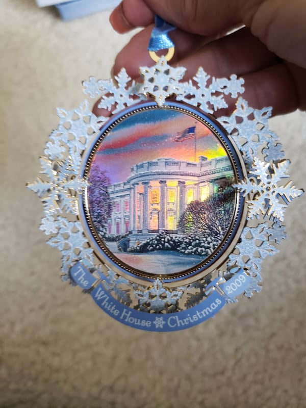 2009 Collectible White House Christmas Ornament  23966cbb-552b-4d09-ad63-40dcca3370b7