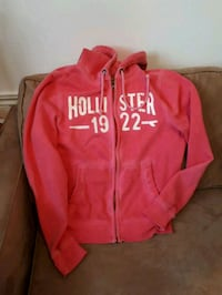 Pink Hollister zip-up hoodie Medicine Hat, T1A 6N3