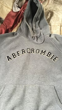 gray and black Abercrombie pull-over hoodie Halifax, B3R 1X9