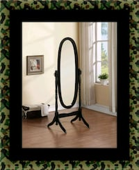 Black swivel oval mirror Landover Hills, 20784
