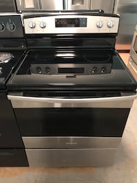 New Amana stainless steel glass top stove Reisterstown, 21136