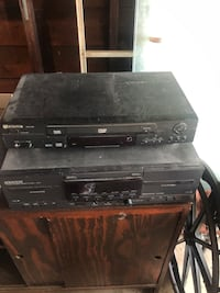 DVD player/stereo/speakers