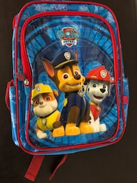 Baby's blue and red paw patrol backpack Montréal, H1R