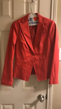 coral United Colors of Beneton blazer