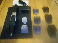 New Phillips wireless rechargeable beard and hair trimmer.