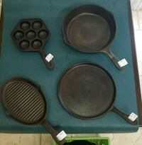 Cast Iron Cookware - various sizes and shapes   Delray Beach, 33444