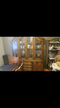 dinning room set with buffet and hutch  Edmonton, T6G 0X6
