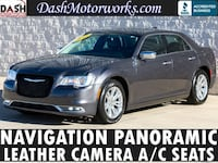 2016 Chrysler 300C Navigation Panoramic Leather Chrome Gray