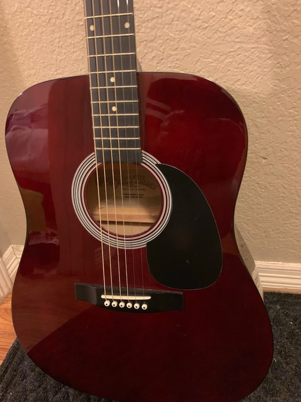 Delta Blues Guitar with soft case
