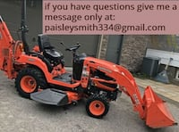 Hydrostatic Kubota Tractor Front Loader bx25 and more PHOENIX