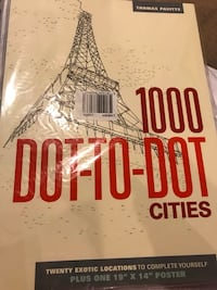 Brand New Dot to Dot Cities Book