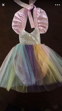 Unicorn sparkle tutu
