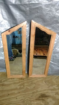 Hand-made Frames with Mirrors