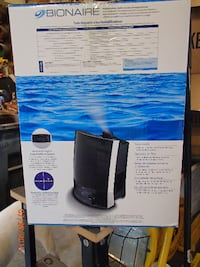 Bionaire Ultrasonic Humidifier - Visible Mist- Runs 36 Hrs. - New In Box $20 Mount Airy
