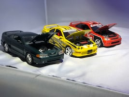 Die cast model cars 1:24 scale