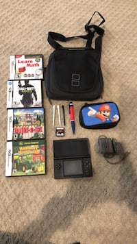 Nintendo DS with Games and Case Lewes, 19958