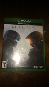 Halo 5 Xbox One game case 970 mi