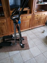 black and gray elliptical trainer Sterling, 20164