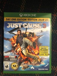 Just cause 3 xbox one game Burlington, L7N 1R2