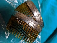 Pr. Silver Navajo Made Combs