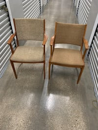 MCM chairs x2 Bowie, 20716