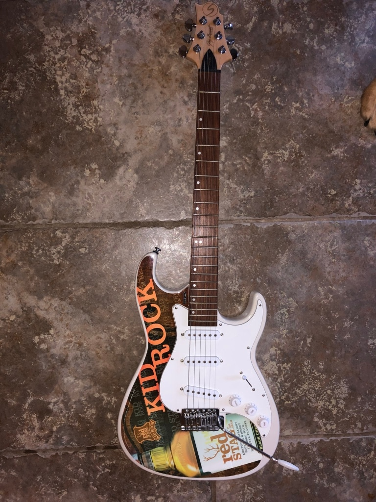 used jim beam kid rock electric guitar for sale in frisco letgo rh us letgo com