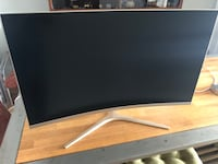 "Viotek 32"" Curved Gaming Computer Monitor Rose Gold Chicago, 60622"