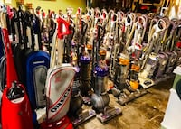 Reconditioned Name Brand Vacuum Cleaners
