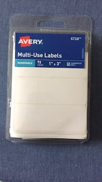 Avery Multi Use Labels - 72 Stickers  Springfield, 22150