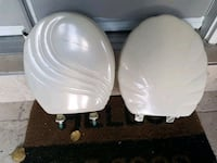 New bone colour toilet seats bought from Sears  525 km