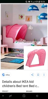 Ikea tent for toodler bed Montreal