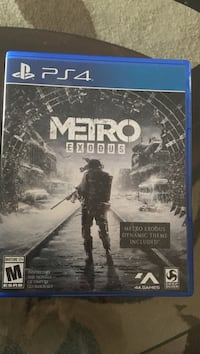 Sony PS4 Metro Exodus Rockville