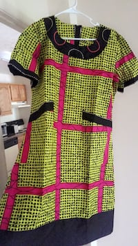 Size 12..... newly made African free dress.... hand made beading Owings Mills, 21117