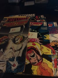 JUST REDUCED comics Firestorm The Nuclear Man   Rockville