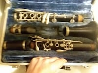 black and brown clarinet with case Lumberton, 39455