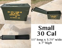 Military surplus ammo cans Bakersfield, 93312