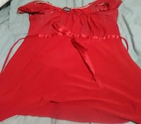 Red blouse. Lg. San Antonio, 78228