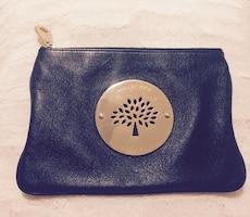 Mulberry skinnclutch