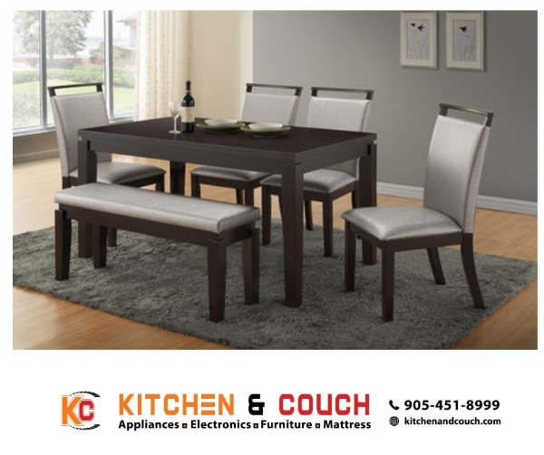 used 7pc dinning table is now at sale includes 6 chairs and a tale rh gb letgo com