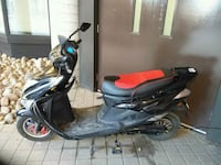 black and red motor scooter Toronto, M6N 1X5