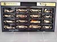 Hot wheels fao schwarz gold series collection ii 16 cars set 1996 nib  cash only Sterling, 20165