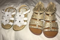 Girls toddler size 5 sandals