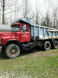 red and gray dump truck Milton, L9T 2X7
