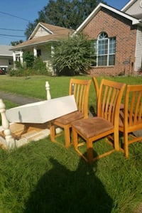 Table, Chairs, & Bookshelf | Curb Alert New Orleans