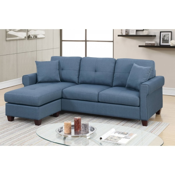 Used 2 Pcs Sectional Sofa Brand New