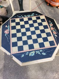 3 Piece Set - Checker Table with Chairs Woodbury, 06798