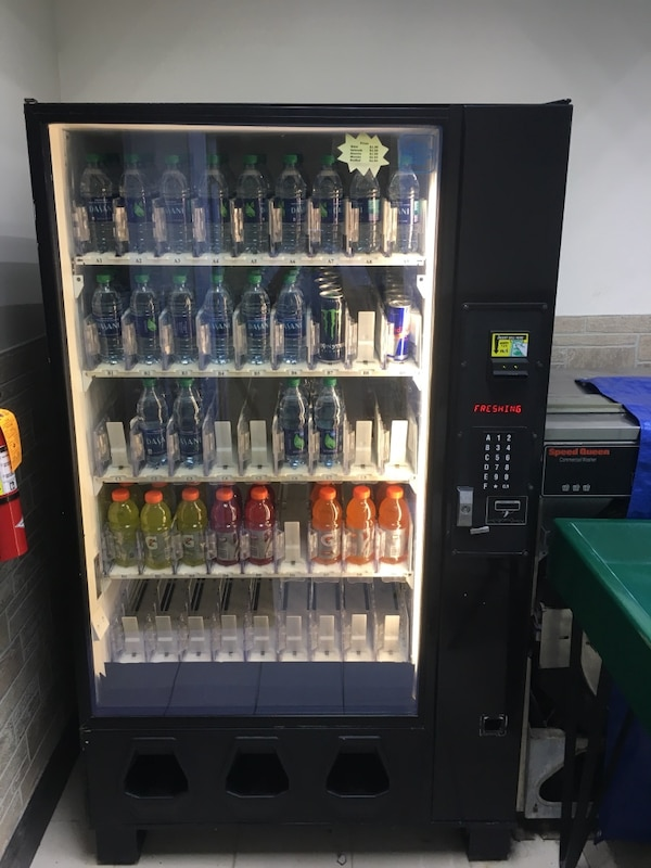 Beverage vending machine Dixie Narco